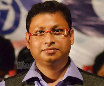 teacher Debanshu Ghosh